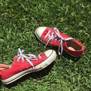 Converse Shoes - red converse